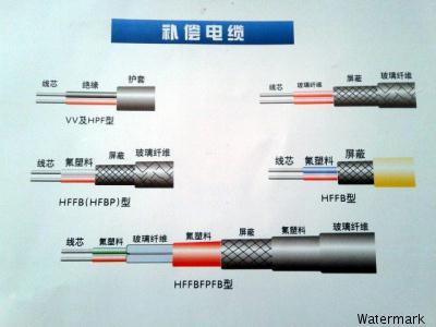 注:sc型补偿导线可配用r型分度号热电偶